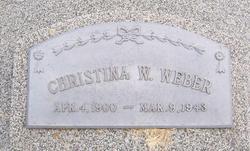 Christina Wilhelmine Weber