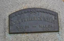 John Frederick Weber