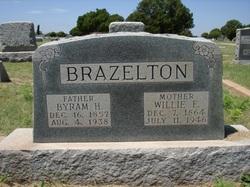 Willie Elizabeth <i>Walker</i> Brazelton