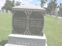 Mary Jane <i>Dunaway</i> Potter