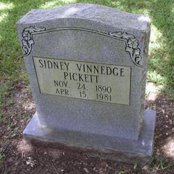 Sidney Vinnedge Pickett