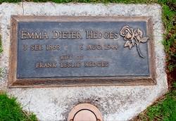 Emma Jean <i>Dieter</i> Hedges