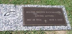 Allene Michelle <i>Brown</i> Richardson