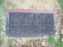 Arminda Josephine Minnie <i>Dooley</i> Agee