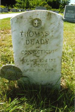 PFC Thomas F. Deady
