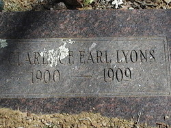 Clarence Earl Lyons