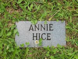 Annie Hice