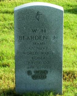 W H Bearden, Jr