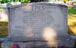Capt Branch Jones Epes