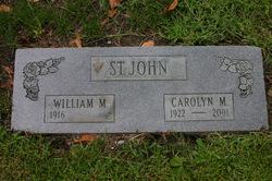 William M St. John