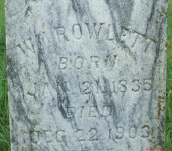 William Daniel Rowlett
