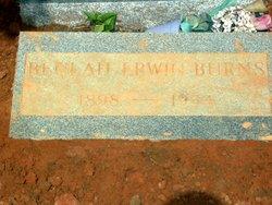 Beulah <i>Erwin</i> Burns
