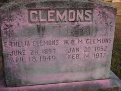 Elizabeth Thelia <i>Rozell</i> Clemons