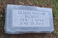 Gladys <i>Watson</i> Beckett