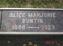 Alice Marjorie Buntin
