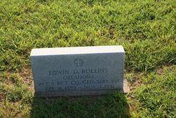 Pvt Edwin D. Rollins