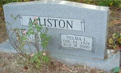 Velma L Alliston