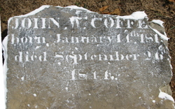 John W Coffey