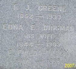 Edna E <i>Dingman</i> Greene