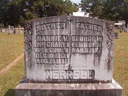 Nannie V <i>McCrary</i> Merrell