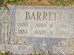 Mary Anne <i>Heron</i> Barrett
