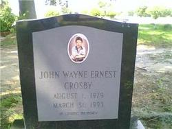 John - Wayne Ernest Crosby