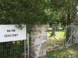 Maine Cemetery