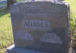 Nancy Cedelia <i>Pitzer</i> Adams