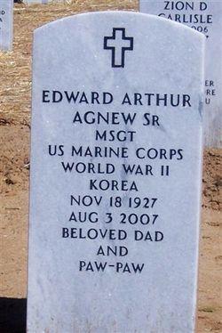 Edward A Fast Eddie Agnew, Sr