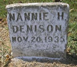 Nannie <i>Simmons</i> Denison