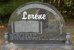 Lorene <i>Holdman</i> Brown