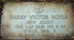 Harry Victor Hoyle