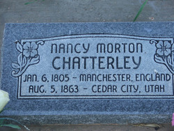Nancy <i>Morton</i> Chatterley