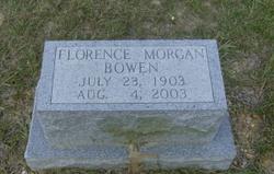 Florence <i>Morgan</i> Bowen