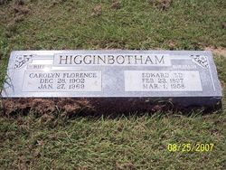 Carolyn Florence <i>Coker</i> Higginbotham