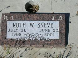 Ruth W. Sneve