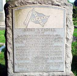 Capt Asher Waterman Garber