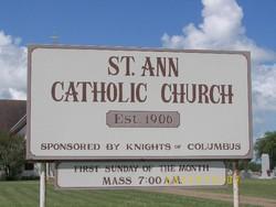 Saint Ann Catholic Church Cemetery