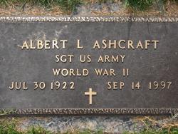 Sgt Albert Lee PaPaw Ashcraft