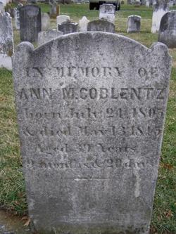 Ann M Coblentz
