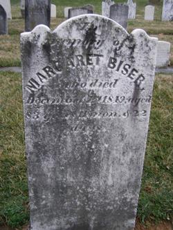 Mary Margaret <i>Coblentz</i> Biser