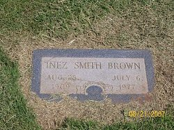 Inez <i>Smith</i> Brown