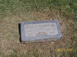 Will C Brown, Sr