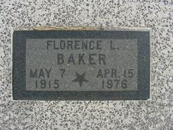 Florence L. <i>Taylor</i> Baker