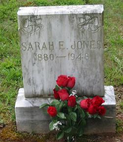 Sarah E. <i>Sluder</i> Jones
