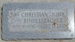 Christian John Rindlisbacher