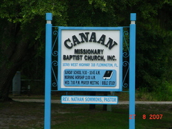 Canaan Missionary Baptist Church Cemetery