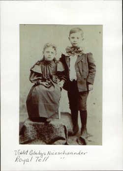 Violet Gladys <i>Niceschwander</i> Sharp