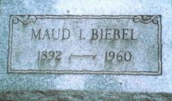 Maud L <i>Duryea</i> Biebel