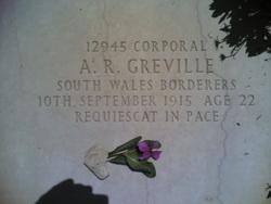 Corporal Arthur Rees Greville